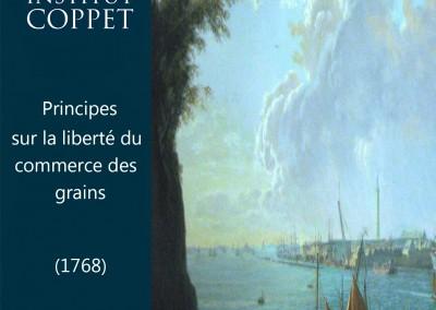 Principes sur la liberté du commerce des grains (1768)
