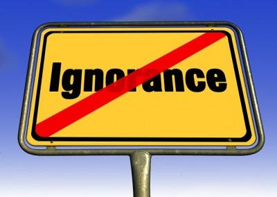 Qu'est-ce que l'ignorance rationnelle ? (2014)