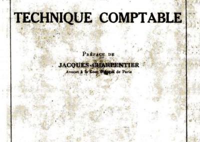 Introduction à la technique comptable (1923)