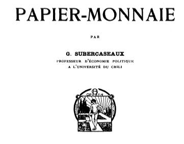 Le papier-monnaie (1920)