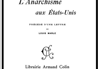 L'anarchisme aux États-Unis (1903)