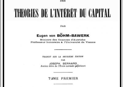 Histoire critique des théories de l'intérêt du capital – Tome 1 (1902)