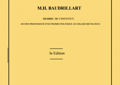 Manuel d'économie politique (1872)