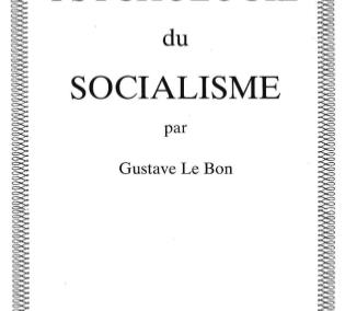 Psychologie du socialisme (1898)