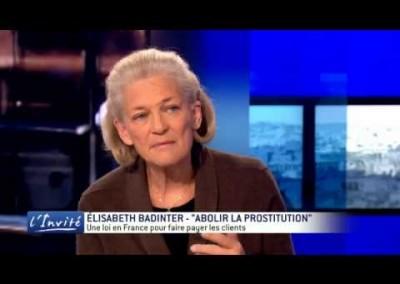 "Elisabeth Badinter : ""C'est scandaleux d'interdire la prostitution"" (2013)"
