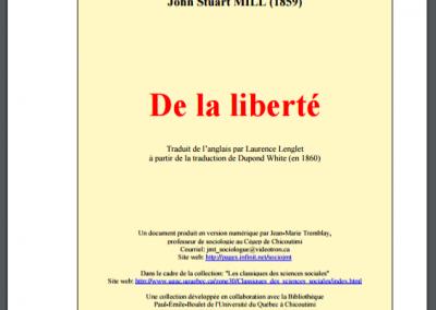 De la liberté (1859)