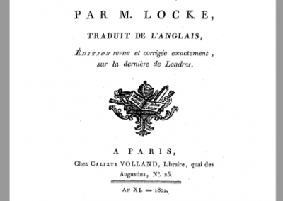 Traité du gouvernement civil (1690)