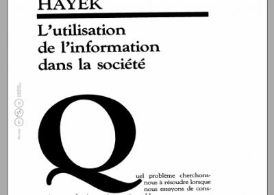 L'utilisation de l'information dans la société (1945)